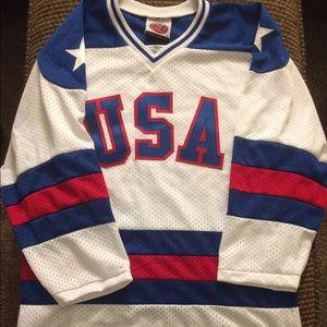 USA hockey jersey miracle